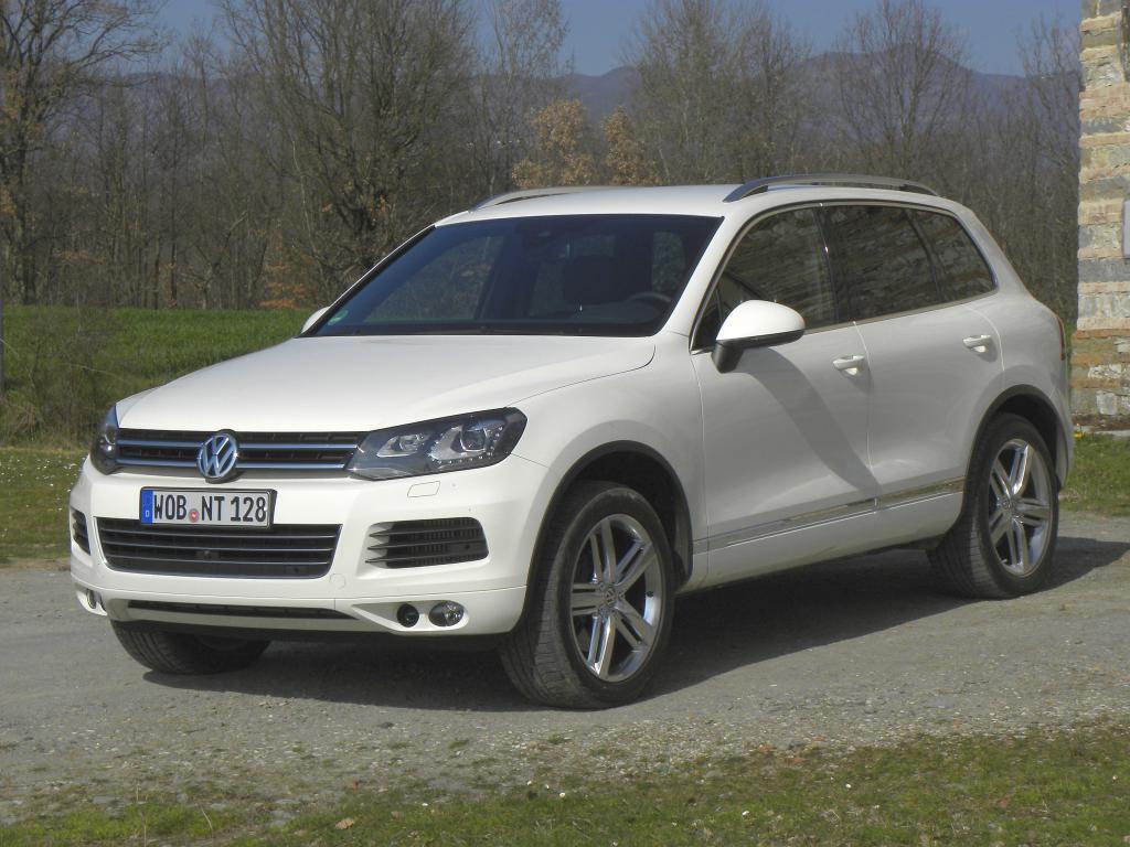 Pressepräsentation Volkswagen Touareg: Auch eine Art von Landflucht