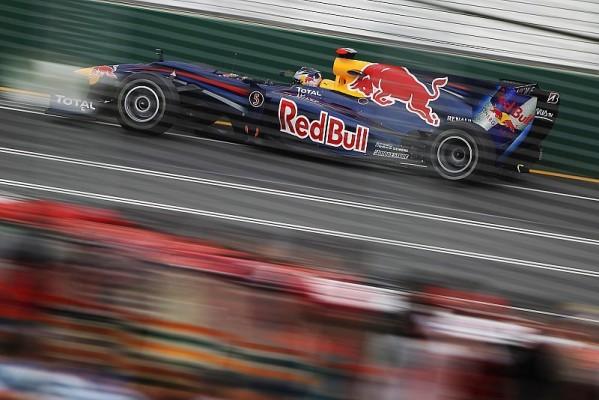 Qualifying: Erste Reihe für Vettel und Webber
