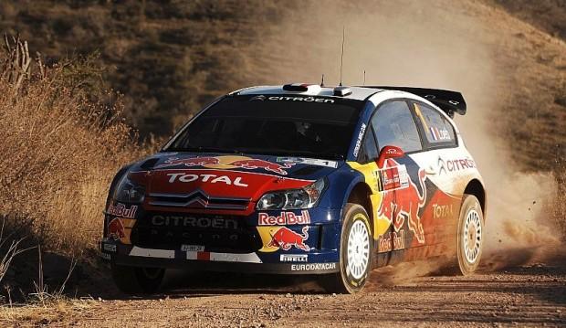 Rallye Mexiko Tag 2: Sébastien Loeb vor Sieg: Sébastien Loeb in Bestform