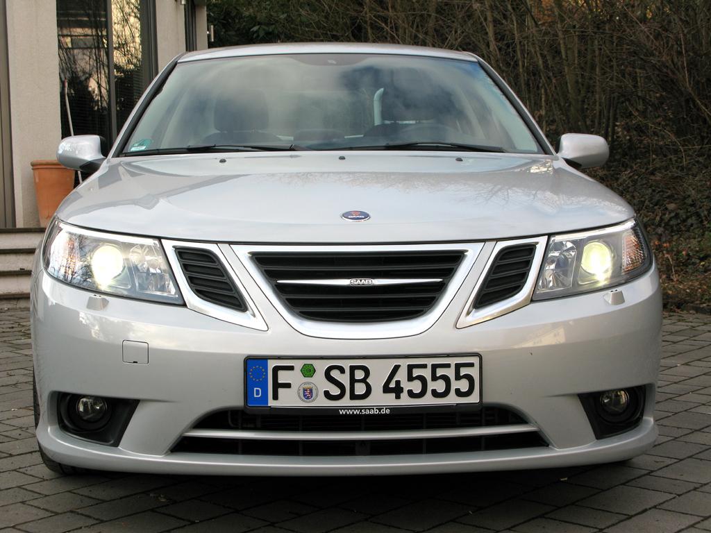 Saab 9-3: Frontansicht.