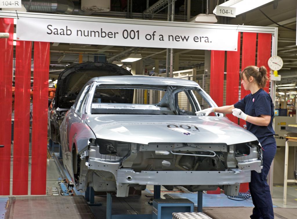 Saab baut wieder Autos