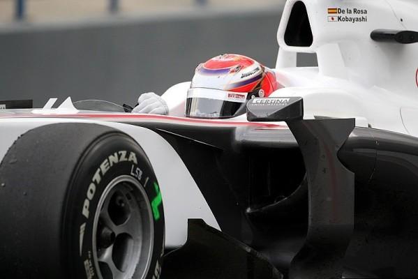 Sauber: C29 killt die Reifen nicht: Im Reifenvorteil