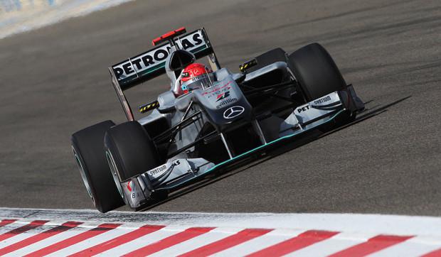 Schumacher erlebte wenig Aufregung: Rückstand zu Ferrari und Red Bull