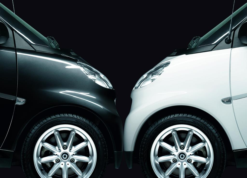 "Smart Fortwo ""Black & White limited""."