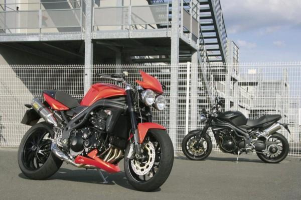 Sonderfinanzierung und Zubehör für Triumph-Motorräder