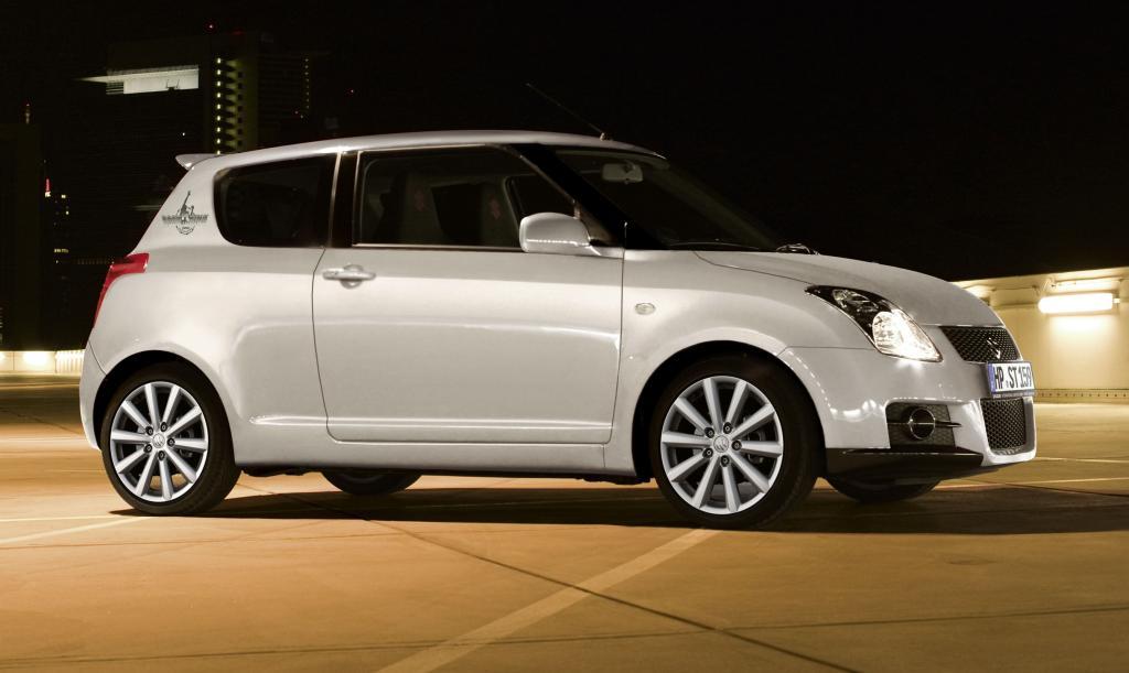 Suzuki Swift Sport als Sondermodell