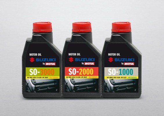 Suzuki setzt auf Motoröl von Motul