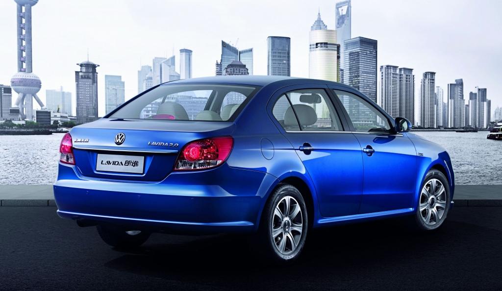 VWs Lavida rollt in China.
