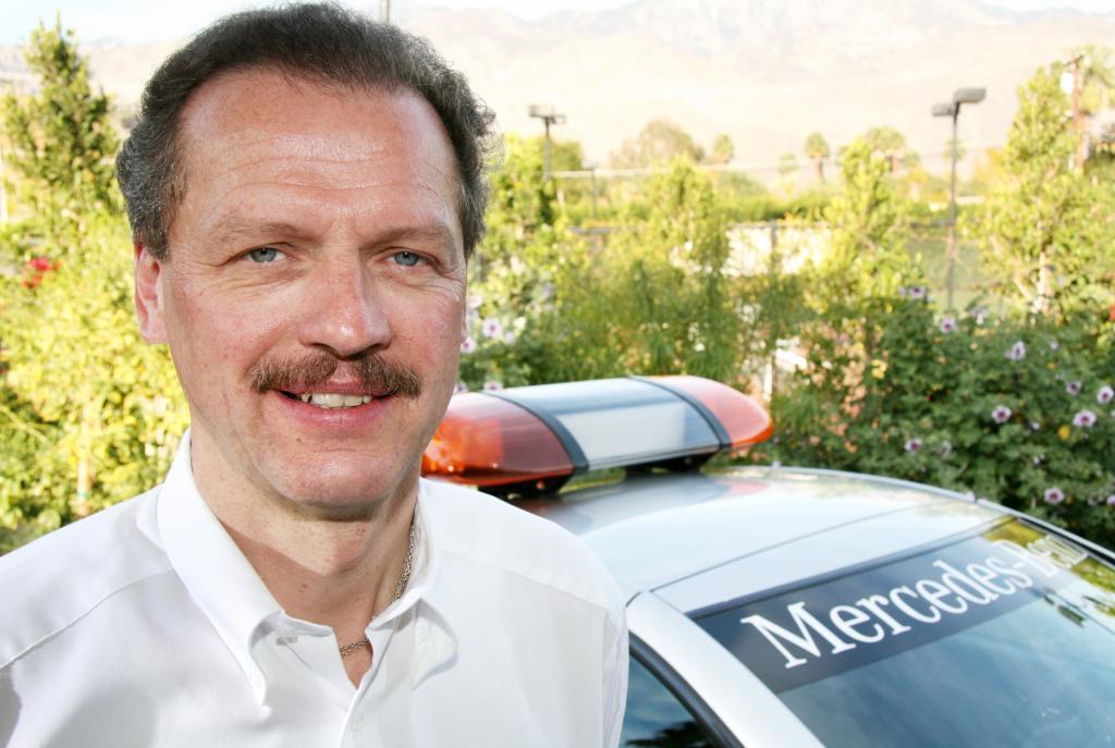 Volker Mornhinweg, der AMG-Chef leitet künftig die Van-Sparte.