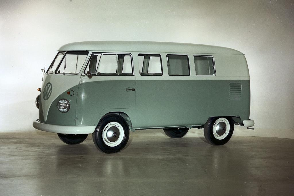 Vor 60 Jahren: Die ersten Volkswagen Transporter rollen vom Band