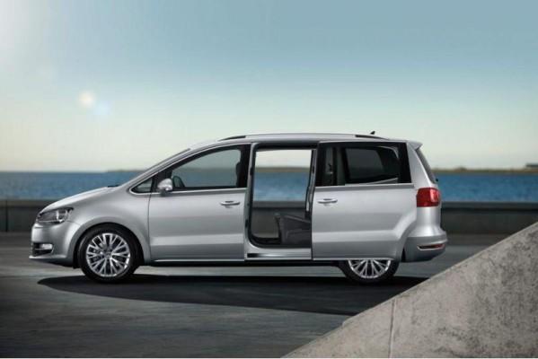 Vorverkauf für den Volkswagen Sharan beginnt