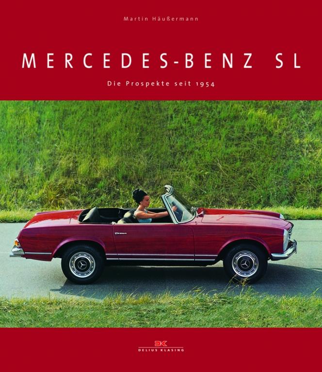auto.de-Buchtipp: Mercedes-Benz SL - Die Prospekte seit 1954