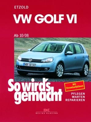 auto.de-Buchtipp: VW Golf VI ab 10/08 – So wird's gemacht