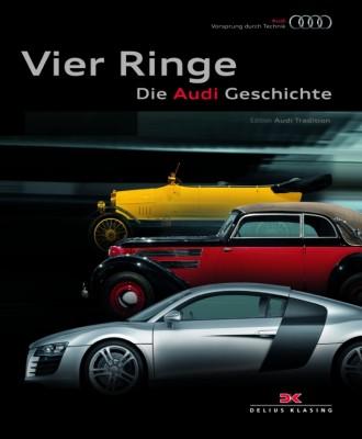 auto.de-Buchtipp: Vier Ringe – Die Audi Geschichte