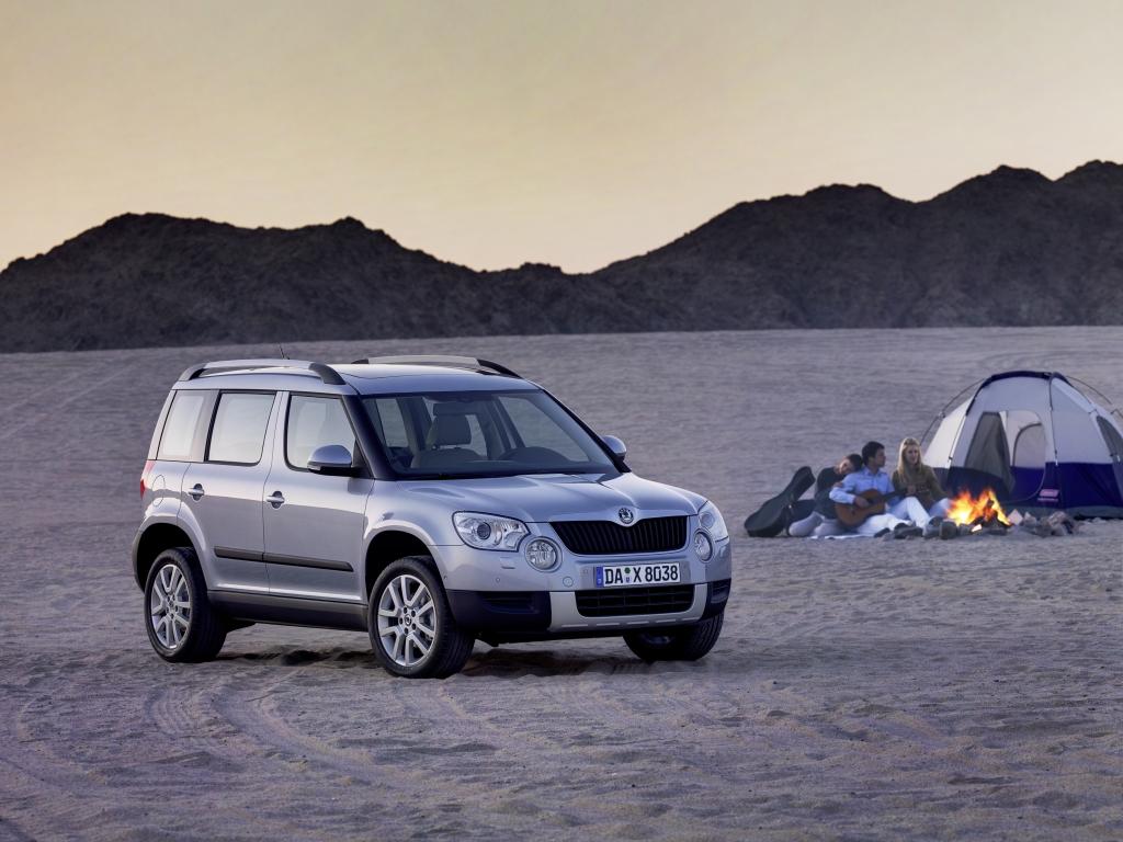 Škoda Yeti Plus Edition mit bis zu 1350 Euro Preisvorteil