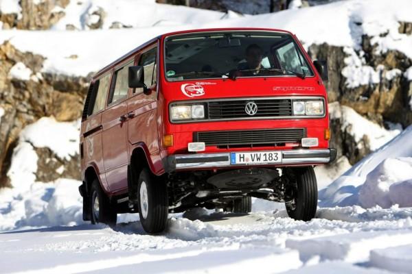25 Jahre VW Transporter mit Allradantrieb
