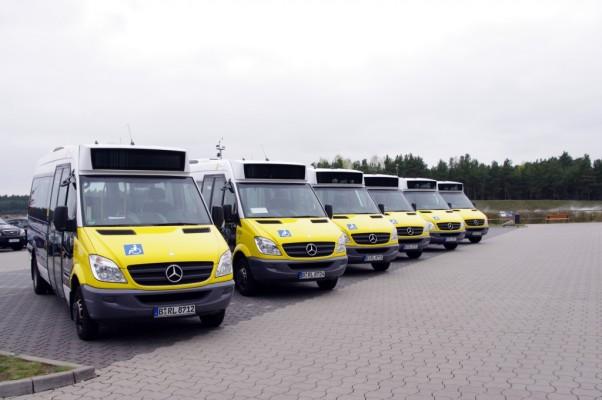 27 Mercedes-Benz Sprinter City ersetzen Großraum-Taxis in Berlin