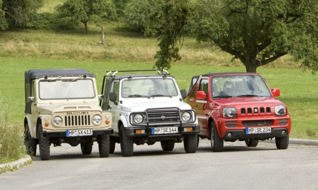 40 Jahre Allrad-Ikone Suzuki Jimny