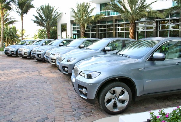 AMI 2010: BMW X6 zum