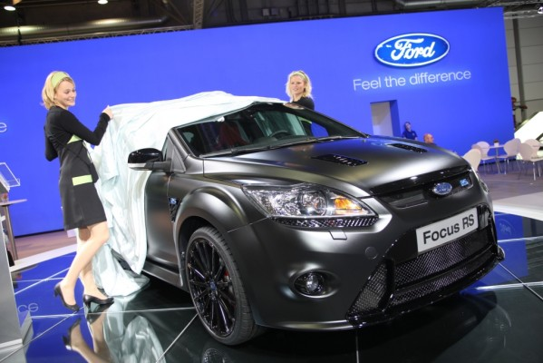 AMI 2010: Ford legt beim Focus RS noch 45 PS drauf