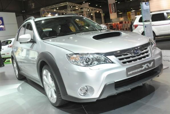 AMI 2010: Impreza zum ''Allradler des Jahres'' unter den Importfahrzeugen gekürt