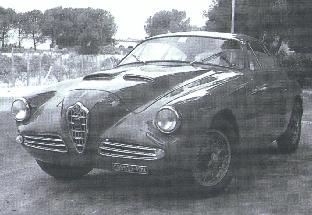 Alfa Romeo 1900 Super Sprint Zagato, 1956 bis 1958.