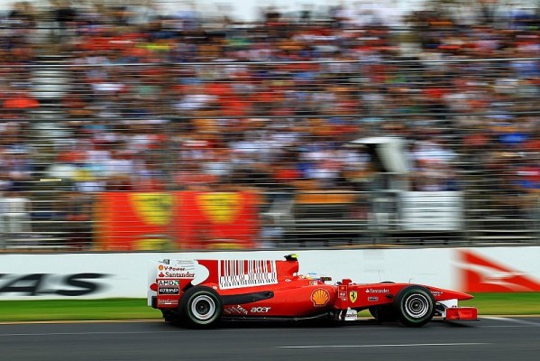 Alonso: Schumacher wird immer ein Gegner sein: Vier Teams kämpfen um Titel