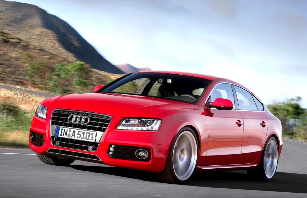 Audi A5 Sportback: Als schickes Kombi-Coupé kommt er daher.