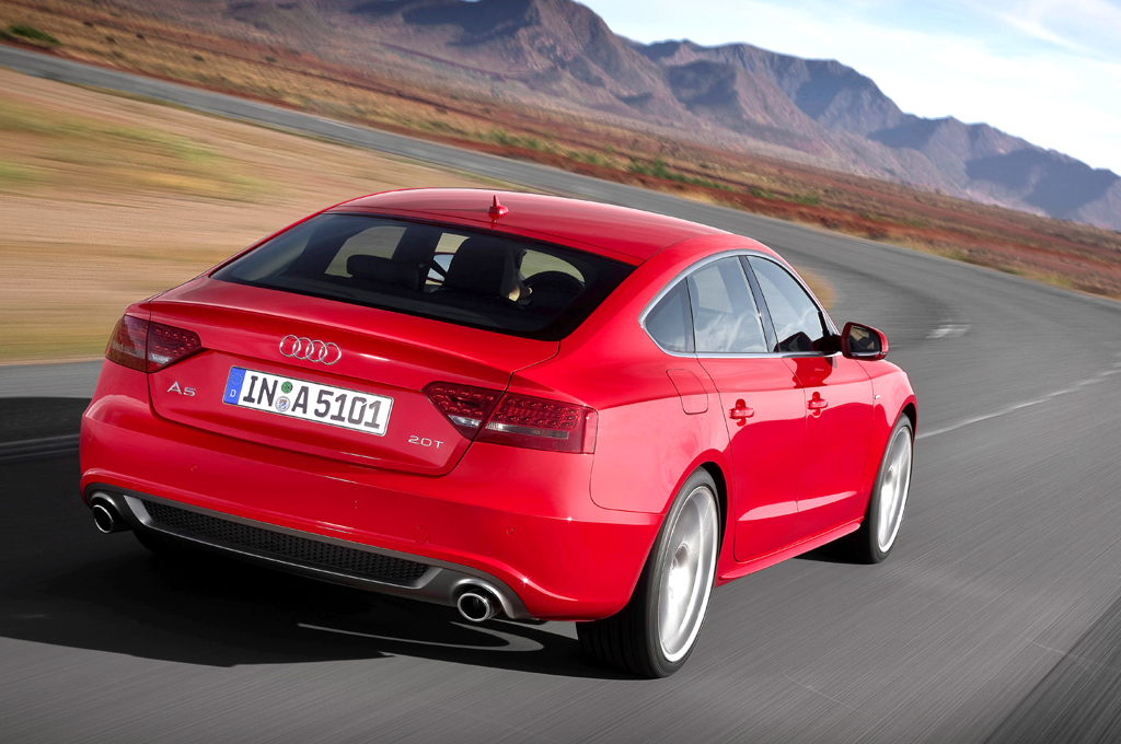 Audi A5 Sportback: Ein schöner Rücken kann auch entzücken.