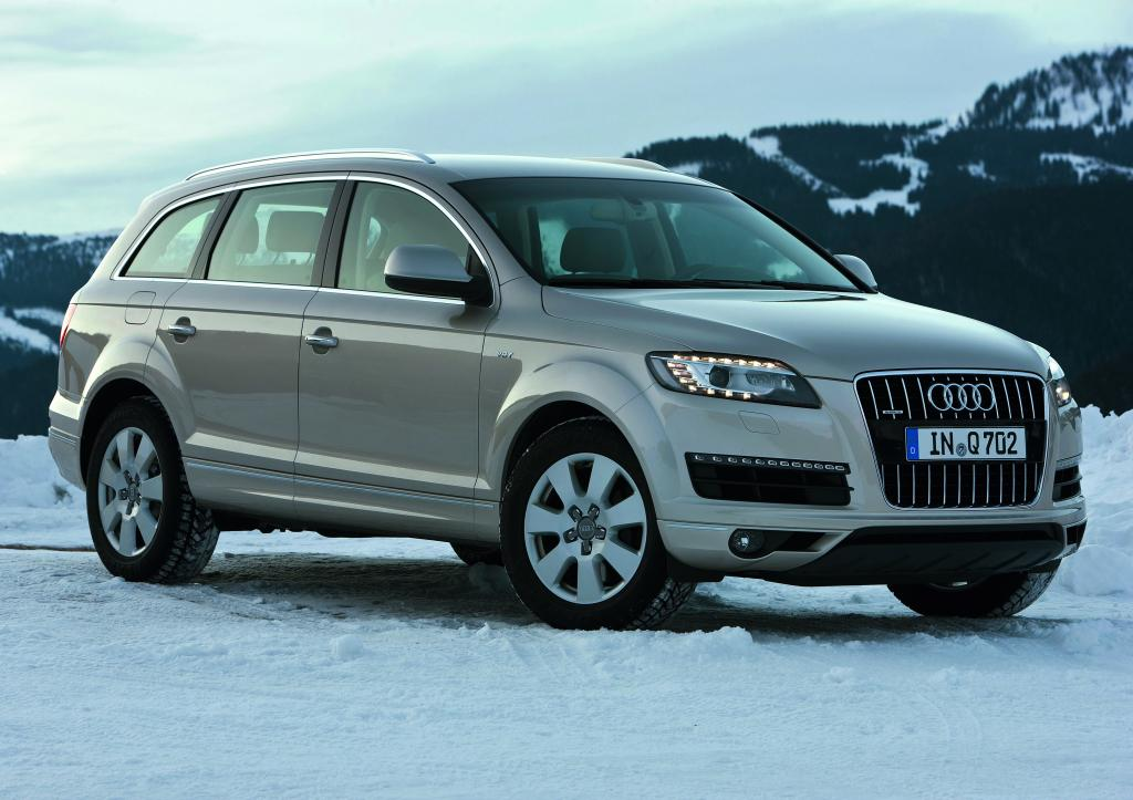 Audi Q 7 bekommt neue Motoren und Achtgang-Automatik