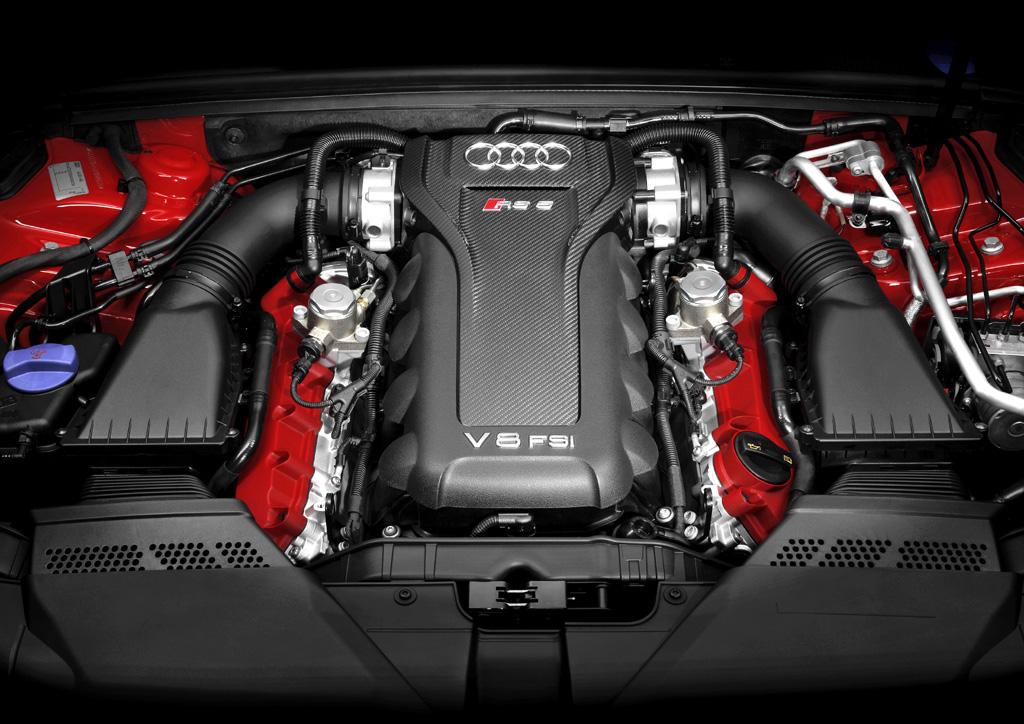 Audi RS5: Der Motor ist ein 4,2-Liter-Achtzylinder-Sauger mit 450 PS.
