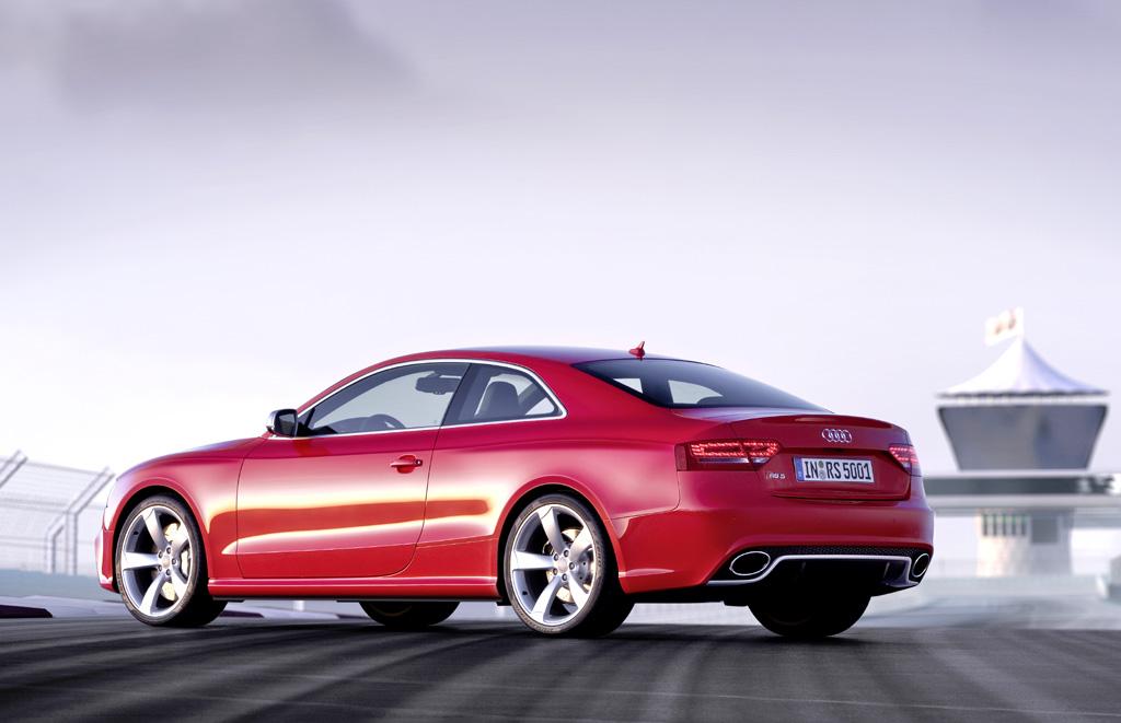 Audi RS5: Die Auslieferungen sollen noch im Frühjahr beginnen.