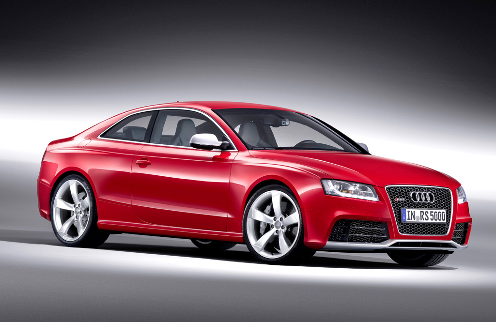 Audi RS5: Seitenschweller prägen den unteren Teil der Coupé-Silhouette.