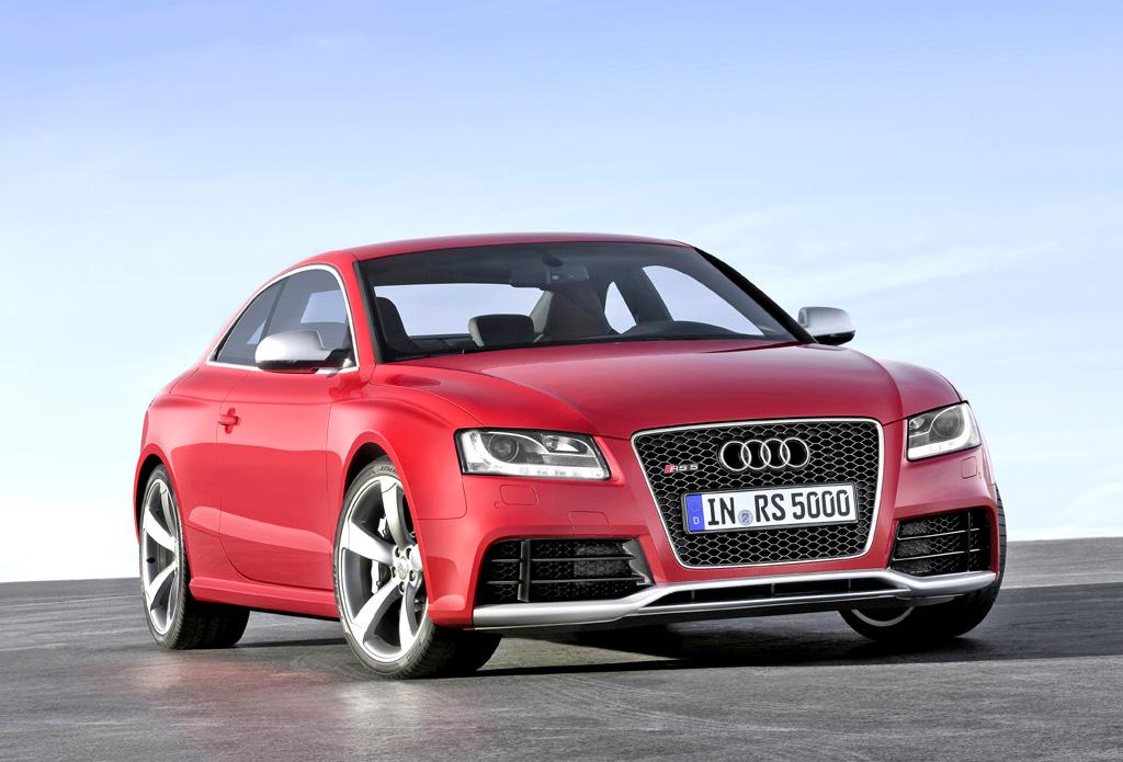 Audi RS5: Zum Jubiläum mit besonders viel Quattro-Erbgut.
