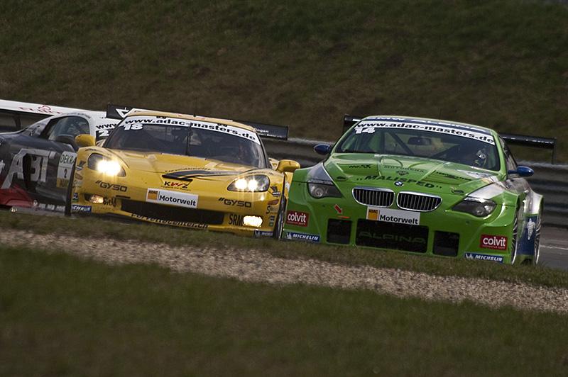 Auftakt GT Masters 2010 in Oscherleben: Siegreich – Sebastian Asch und Niclas Kentnich