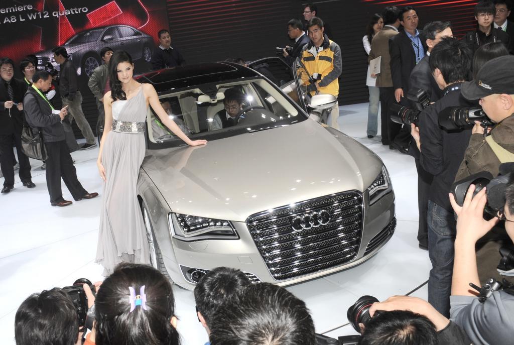 Auto China 2008: Audi A8 L mit viel Platz und Luxus - Bild