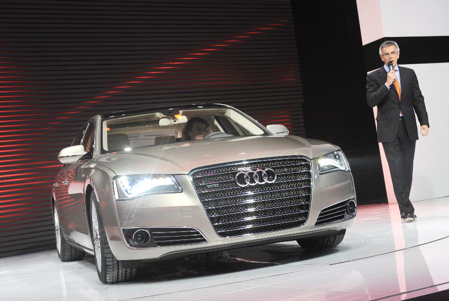 Auto China 2008: Audi A8 L mit viel Platz und Luxus