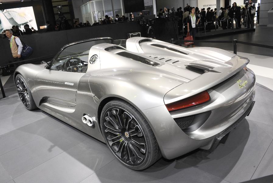 Auto China 2010: Weltpremiere Porsche Panamera