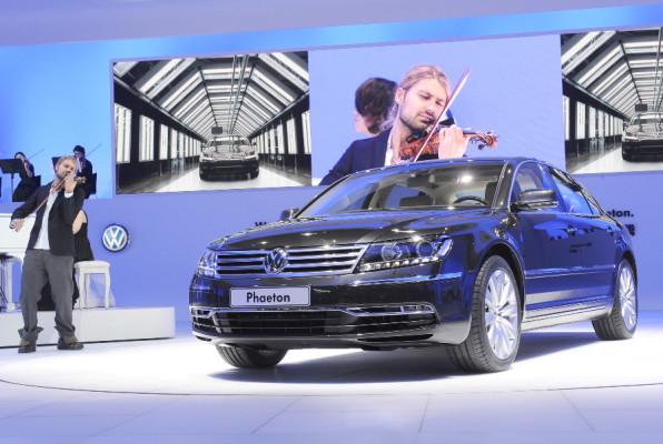 Auto China 2010: Weltpremiere des VW Phaeton
