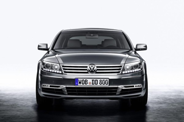 Auto China: VW Phaeton - Facelift für das Luxusproblemkind