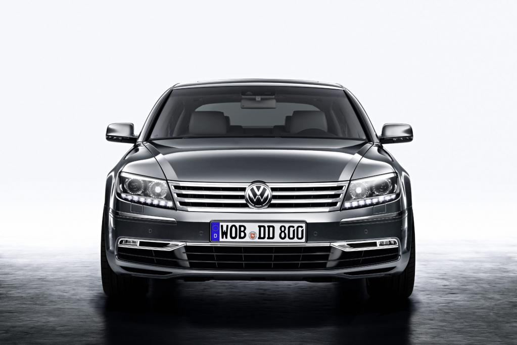 Auto China: VW Phaeton - Facelift für das Luxusproblemkind