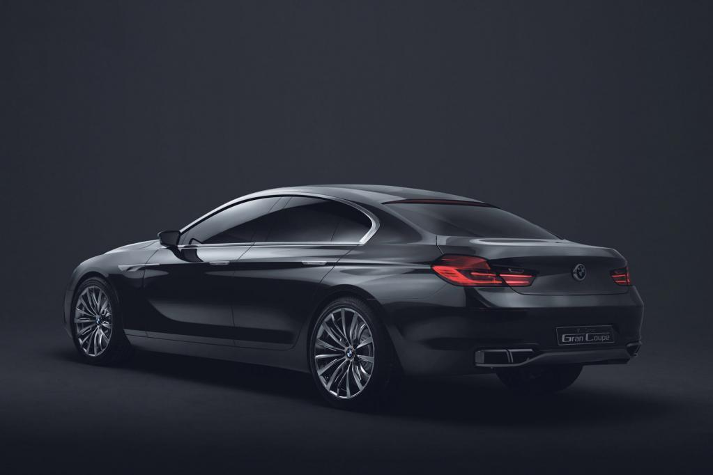 BMW 6er Gran Coupé - Panamera-Konkurrent aus München