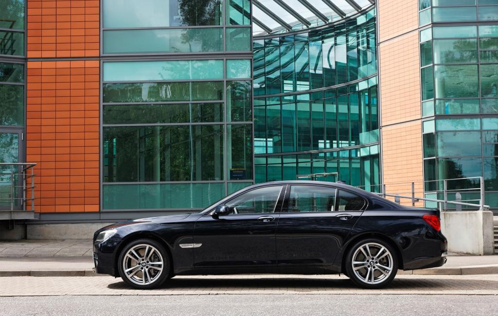 BMW 740 d.