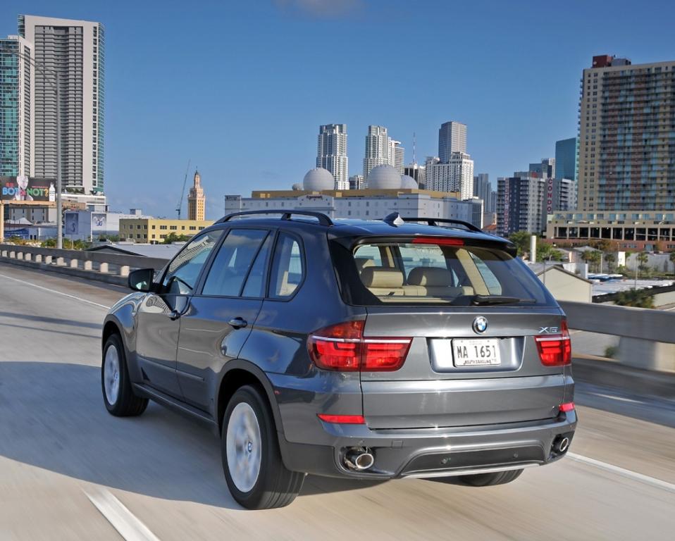 BMW X5: Auch ein schöner Rücken kann entzücken.