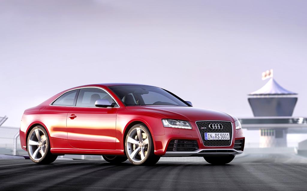 Beim neuen RS5 hat Audi viel, viel Kraft in einem formschönen Coupé verpackt