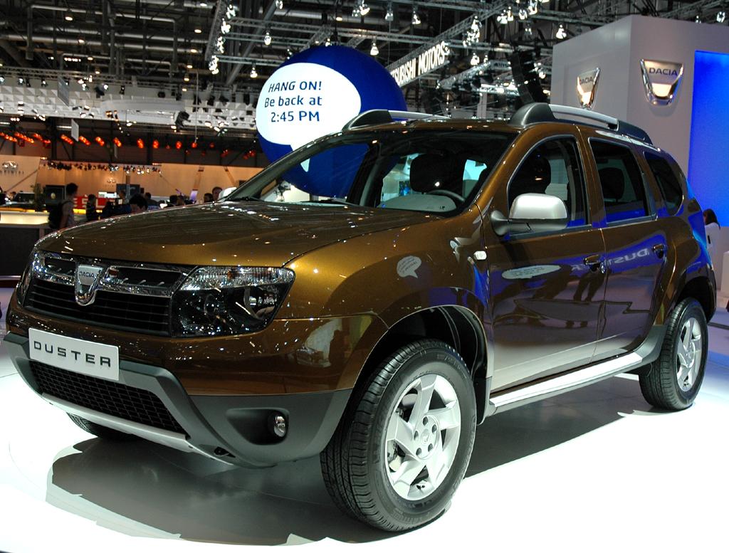 Bislang bleibt die rumänische Renault-Preiswerttochter Dacia, hier der neue Duster, bei der strategischen Kooperation mit Daimler außen vor.