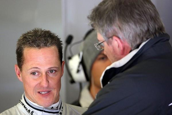 Brawn von Schumachers Problemen überrascht: Bislang kam er Nico näher und näher