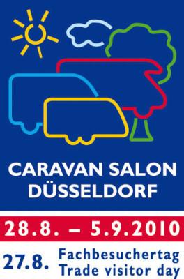 Caravan Salon 2010 mit über 550 Ausstellern
