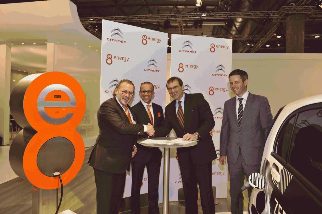 Citroën und e8energy machen das Elektro-Auto ''sauber''