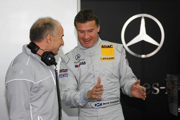 Coulthard bestätigt Mercedes-Verpflichtung: Kribbeln ist wieder da